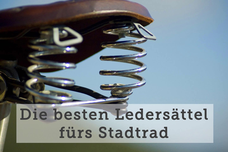 Ledersattel fürs Hollandrad