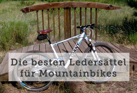 Ledersattel fürs Mountainbike