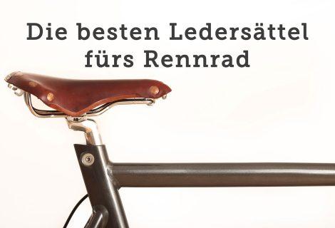 Ledersattel fürs Rennrad