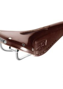 Brooks B17 Narrow Imperial Fahrrad Leder Sattel, B17 N I, Farbe braun