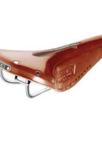Brooks B17 Narrow Imperial Fahrrad Leder Sattel, B17 N I, Farbe honig