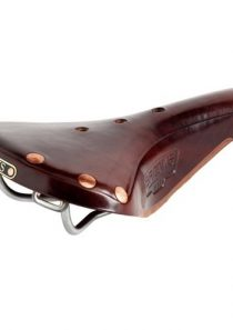 Brooks Fahrradsattel B17 Titanium, brown, 80460203