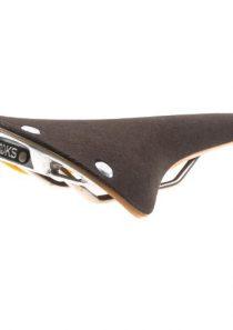 Brooks Cambium C17 Fahrrad Sattel, Farbe Slate (Schiefer-Grau)