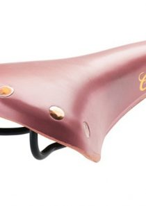Brooks Colt B304 Ledersattel, Brooks Colt B304, Farbe pink